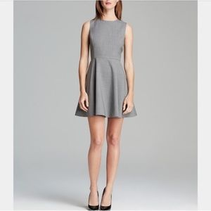 THEORY • Tillora Fit and Flare Sleeveless Dress